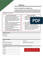 collaborative grading event application