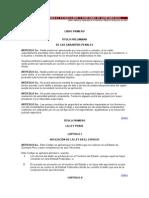 Codigo Penal Para El Estado Libre y Soberano de Quintana Roo