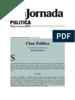 22-04-2014 L a jornada - Clase Política.