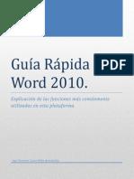 Guía Rápida de Microsoft Word