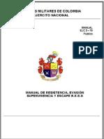 Ejercito Colombia -59 Manual De Evasion, Resistencia Y Supervivencia.pdf