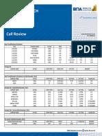 Call Review 14 November2012