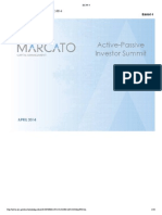 Marcato Capital Presentation on Sothebys and  Dillards