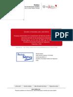 Procesos Inferenciales en La Comprensión Del Discurso Escrito. Infuencia de La Estructura Del Texto
