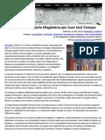 El Cristianismo de María Magdalena Por Juan José Tamayo