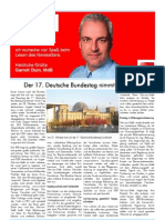 Newsletter Oktober 2009