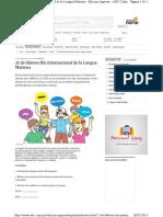 ABC Com Py Edicion Impresa Suplementos Escolar 21 de Febrero Dia Internacional de La Lengua Materna 540486 HTML