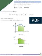 Formulas de Integración de Newton-cotes