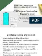 Interaccion Dinamica Liquido-estructura-suelo en Reservorios