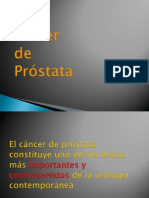 Cancer de Prostata Estiga