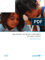 UNICEF ROE Roma Position Paper Web