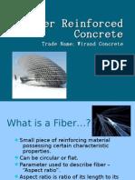 Fibre Reinforced Concrete   Concrete   Chemistry