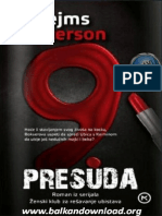 Deveta Presuda - James Patterson