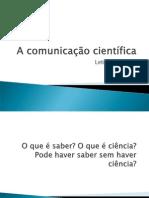 COMUNICACAO CIENTIFICA