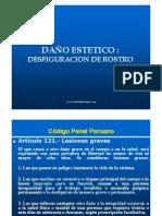 Dan_o Estetico - Desfiguracion de Rostro - Medicina Forense Peru