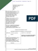 Samsung Statement on Tentative Juror Verdict Form