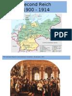 Second Reich 1900 - 1914