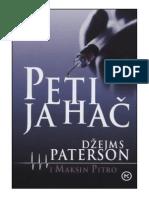 Peti Jahac, Dzejms Paterson