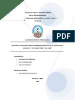 Informe Final de BDE