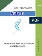 Trabajar Con El Diccionario 1c2ba Bachiller