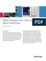 Digital Debugging Tips Using a Mixed Signal Oscilloscope