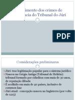 Procedimento Dos Crimes de Competência Do Tribunal Do