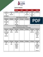 Cronograma-Orientación Educativa y Adolescencia-2da Edición