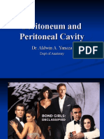 Peritoneum and Peritoneal Cavity