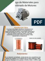 Catalogo de Materiales Para Rebobinado de Motores