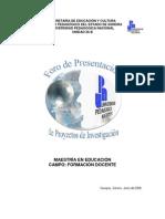 UPN_FORO2009