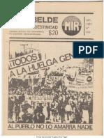 El Rebelde 243 Septiembre 1987