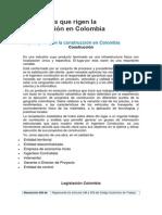 Normativas Que Rigen La Construcción en Colombi1