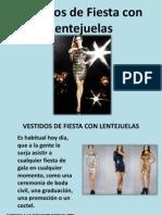 Vestidos de Fiesta Con Lentejuelas