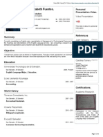 Delmy Fuentes VisualCV Resume