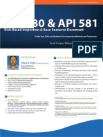 API 580 & API 581 - PetroSync
