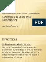 Evaluacion de Decisiones Estrategicas (Tarea 1)