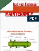Floating Head Heat Exchanger Maintenance
