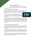 Clasificación de Los Actos de Administrativos