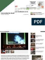 Poniatowska Se Reúne Con Estudiantes en La Universidad de Alcalá