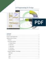 Dynamo Visual Programming for Design