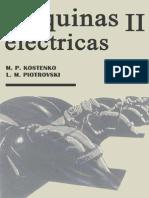 Maquinas Electricas II m.p. Kostenko & l. m. Piotrovski