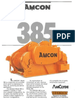 Amcon Winch 385 Literature