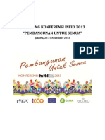 Prosiding Konferensi INFID 2013, Pembangunan Untuk Semua