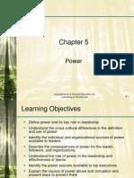 Nahavandi_leadership6_ppt05 - Power and Leadership