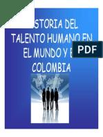 Historia Del Talento Humano en El Mundo