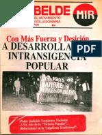 El Rebelde 260 Octubre 1989