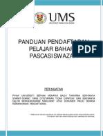 Garis Panduan Pascasiswazah 2013