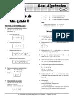 Álgebra(teoria y practica) ELITE X  11  Ecuac 2° grado
