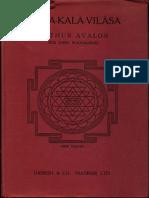Kama Kala Vilas - Arthur Avalon