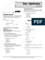 Álgebra(Teoria y Practica) ELITE X 12 Sist Ecuac